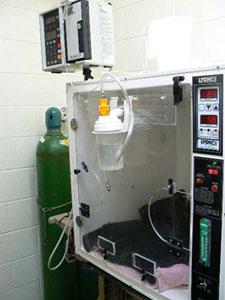 Incubator with I.V. Pump